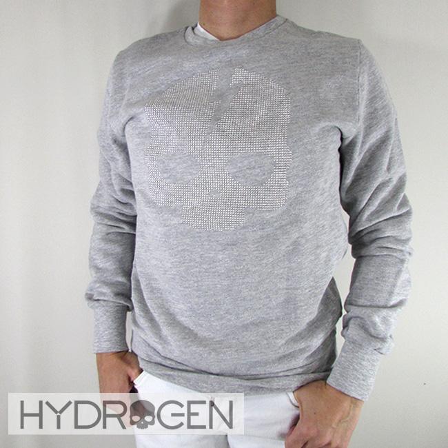 ハイドロゲン HYDROGEN スウェット トレーナー 長袖 スウェットシャツ 230120 / 015 / グレー 灰 サイズ:S~XL