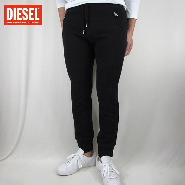 ディーゼル DIESEL メンズ スウェットパンツ パンツ スエット ボトムス P-WORK / 900 / ブラック サイズ:S