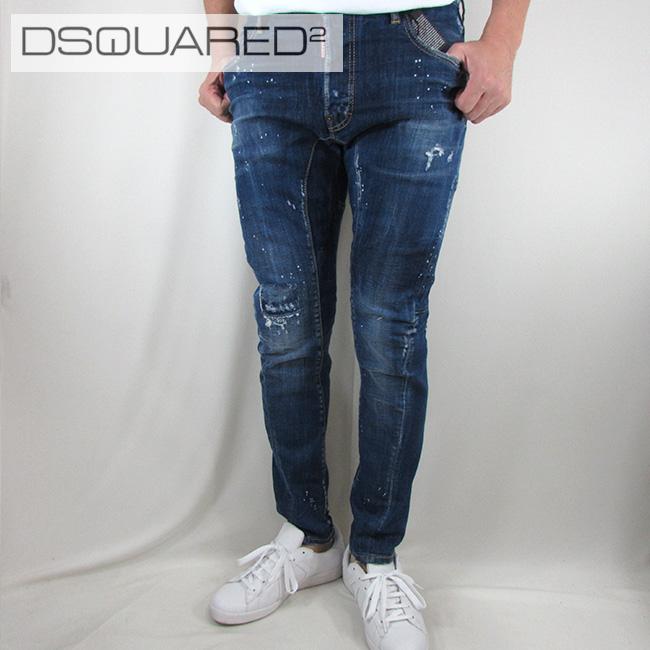 ディースクエアード DSQUARED2 デニム ジーンズ メンズ デニムパンツ S71LB0431 / 470 / ブルー サイズ:44~52