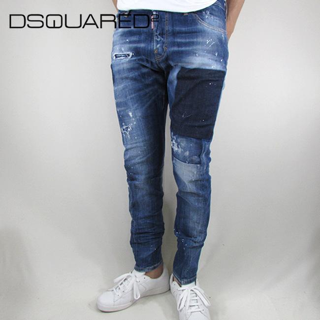 ディースクエアード DSQUARED2 デニム ジーンズ メンズ デニムパンツ S71LB0436 / 470 / ブルー サイズ:46/48