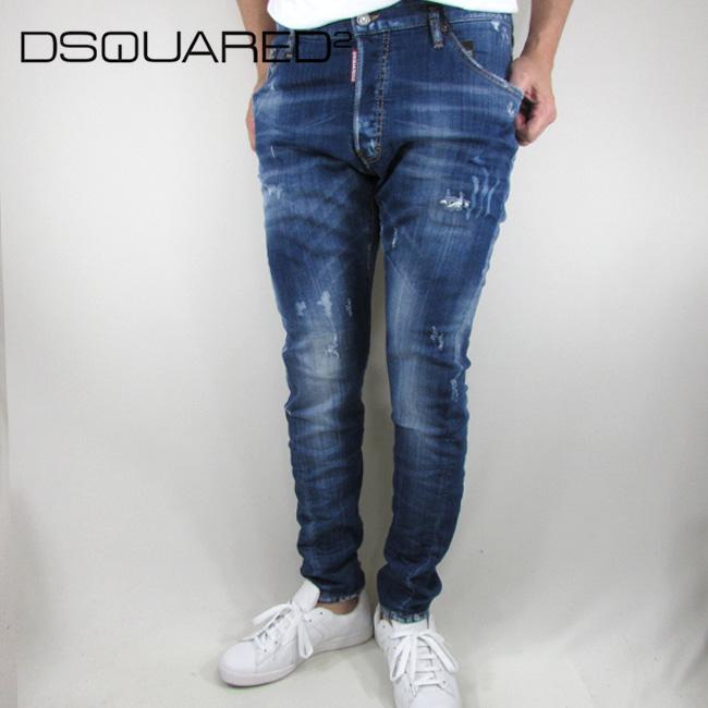 ディースクエアード DSQUARED2 デニム ジーンズ メンズ デニムパンツ S71LB0442 / 470 / ブルー サイズ:46/48