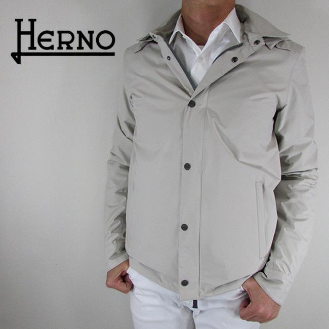 ヘルノ HERNO メンズ コート ステンカラーコート アウター GI027UL 11101 / 1300 / ベージュ サイズ:46/48/50