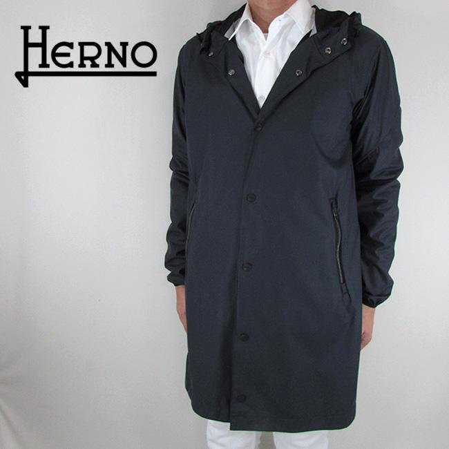 ヘルノ HERNO メンズ コート ステンカラーコート アウター GC0033U 12202 / 9201 / ネイビー 紺 サイズ:46~52