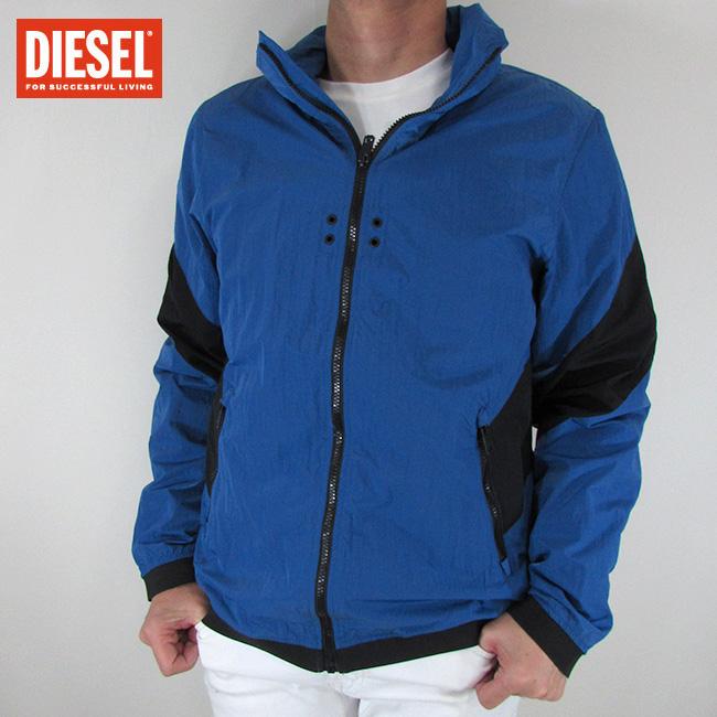 ディーゼル DIESEL ジャケット メンズ アウター ブルゾン J-CHORD / 891 / ブルー サイズ:L