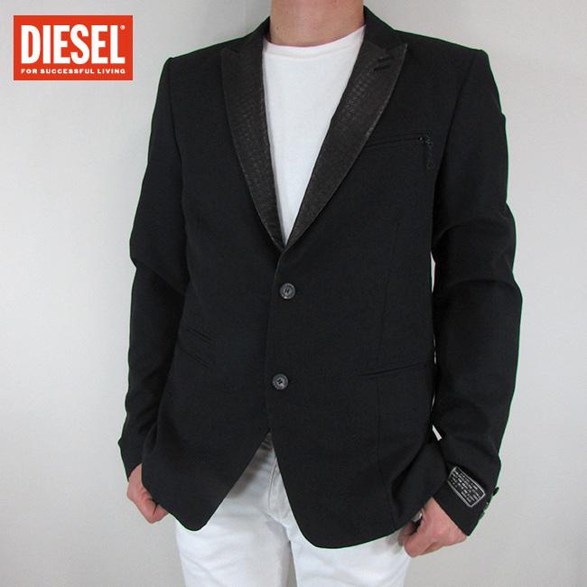 ディーゼル DIESEL テーラードジャケット メンズ ジャケット アウター J-SUMTER / 900 / ブラック サイズ:L