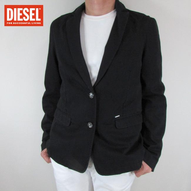ディーゼル DIESEL テーラードジャケット メンズ ジャケット アウター D-JEOR / 02 / ブラック サイズ:L