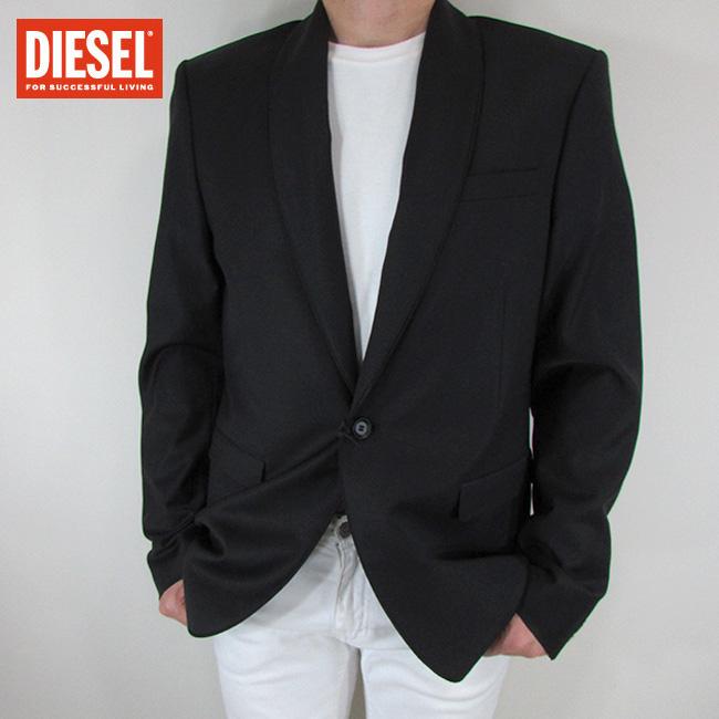 ディーゼル DIESEL テーラードジャケット メンズ ジャケット アウター J-BATISTA / 900 / ブラック サイズ:50