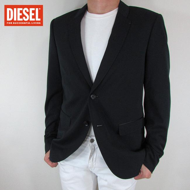 ディーゼル DIESEL テーラードジャケット メンズ ジャケット アウター J-RIVERA / 900 / ブラック サイズ:50