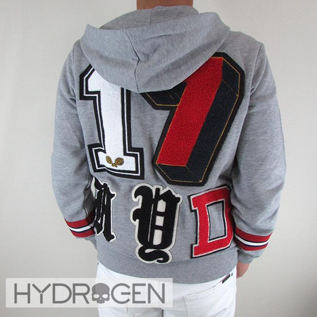 ハイドロゲン HYDROGEN パーカー ジップアップパーカー スウェット メンズ ブルゾン 220636 / 15 / グレー サイズ:S/M