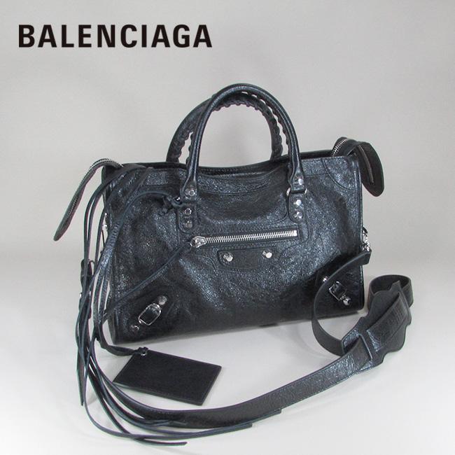 バレンシアガ BALENCIAGA バッグ ショルダーバッグ 手持ち 本革 レザーバッグ 431621 D94JN / 1000 / ブラック