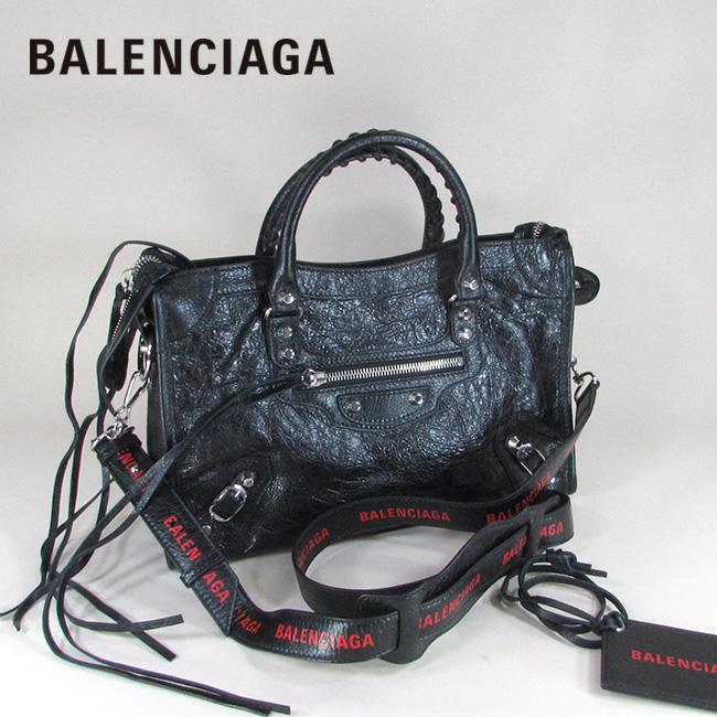 バレンシアガ BALENCIAGA バッグ ショルダーバッグ 手持ち 本革 レザーバッグ 431621 DB5XN / 1000 / ブラック