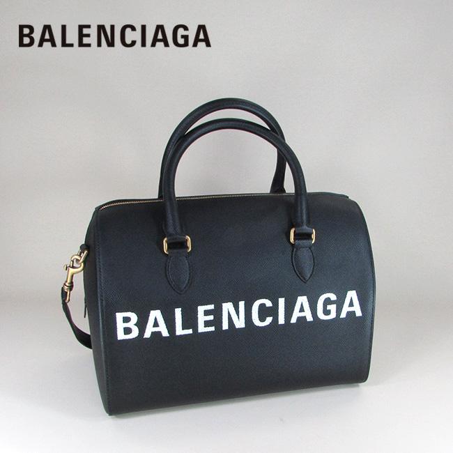 バレンシアガ BALENCIAGA レディース バッグ ショルダーバッグ ハンドバッグ 本革 レザー 518804 0OTOM / 1000 / ブラック