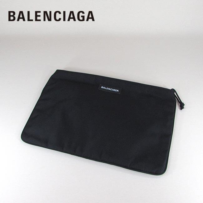 バレンシアガ BALENCIAGA レディース メンズ クラッチバッグ ポーチ バッグ 鞄 535334 9TY35 / - / ブラック