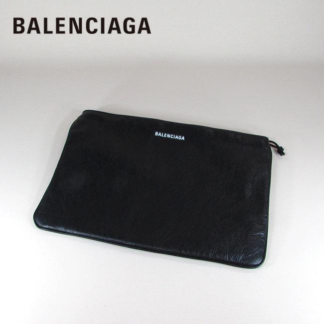バレンシアガ BALENCIAGA レディース メンズ クラッチバッグ ポーチ バッグ 鞄 535334 DB505 / 1000 / ブラック