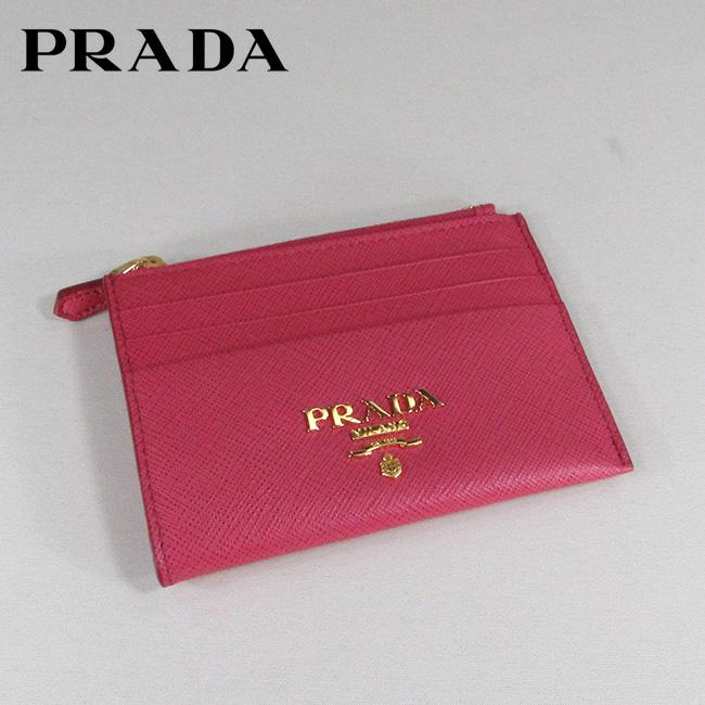 プラダ PRADA カードケース コインケース 小銭入れ メンズ レディース 1MC026 QWA / F0505 / PEONIA