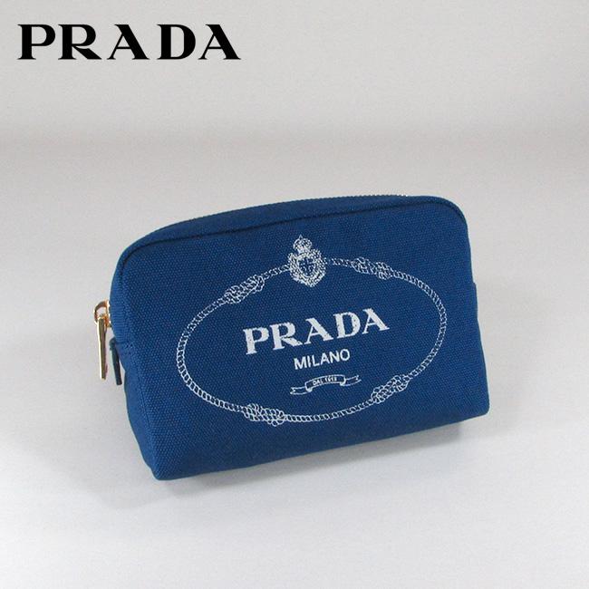 プラダ PRADA ポーチ トラベルポーチ コスメケース 小物入れ 1NA021 20L / F0002 / BLUETTE+TACCO