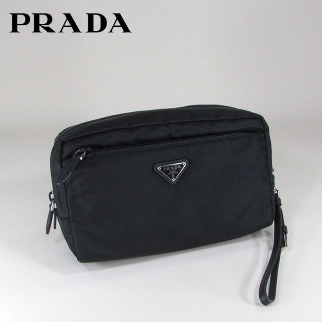 プラダ PRADA ポーチ ナイロンポーチ トラベルポーチ コスメケース 1NE394 067 / F0002 / NERO