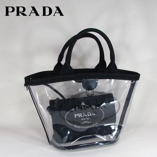 プラダ PRADA ハンドバッグ ショルダーバッグ プレキシ ショッパー 手持ち 1BG187 2BY5 / F0002 / NERO
