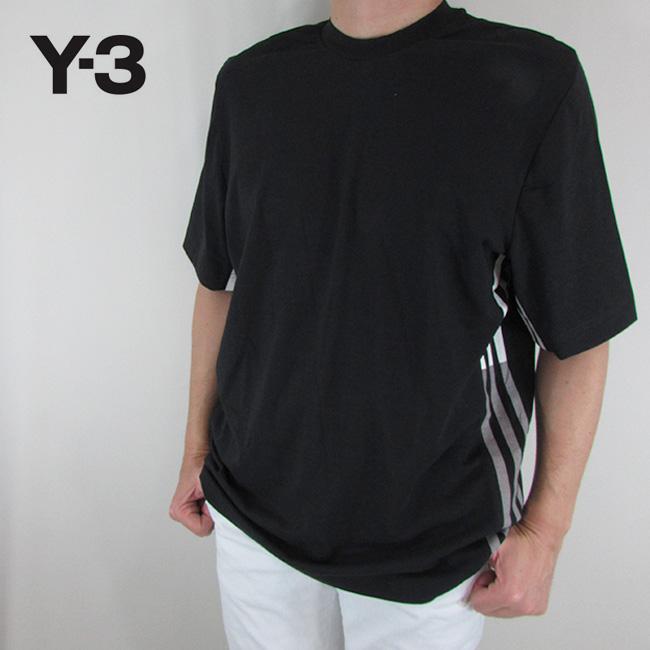 Y-3 ワイスリー YOHJI YAMAMOTO メンズ Tシャツ 半袖 カットソートップス 丸首 ストリート 黒 DP0486 / BLACK / ブラック サイズ:XS~L