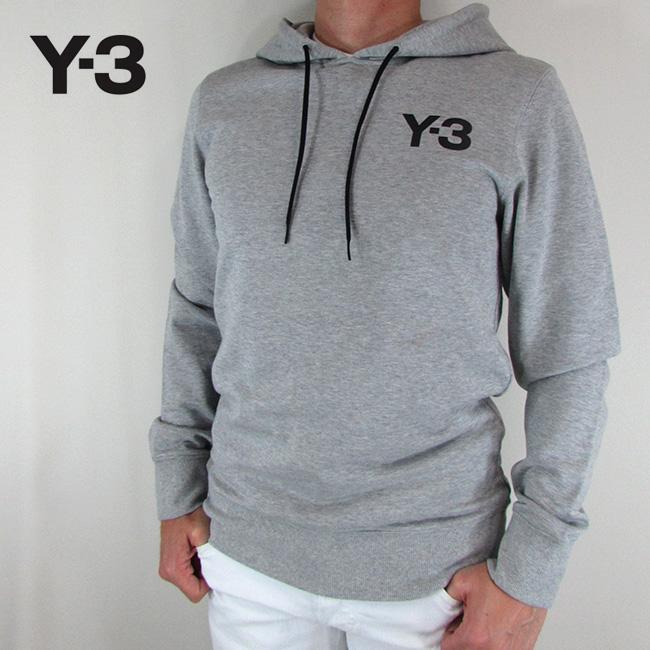 Y-3 ワイスリー YOHJI YAMAMOTO パーカー メンズ スウェット プルオーバー パーカー ストリート CY6897 / MGREYH / グレー サイズ:S/M/L