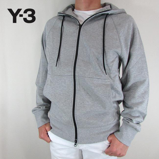 Y-3 ワイスリー YOHJI YAMAMOTO メンズ パーカー ジップパーカー スウェット ストリート DP0573 / MGREYH / グレー サイズ:S~XL