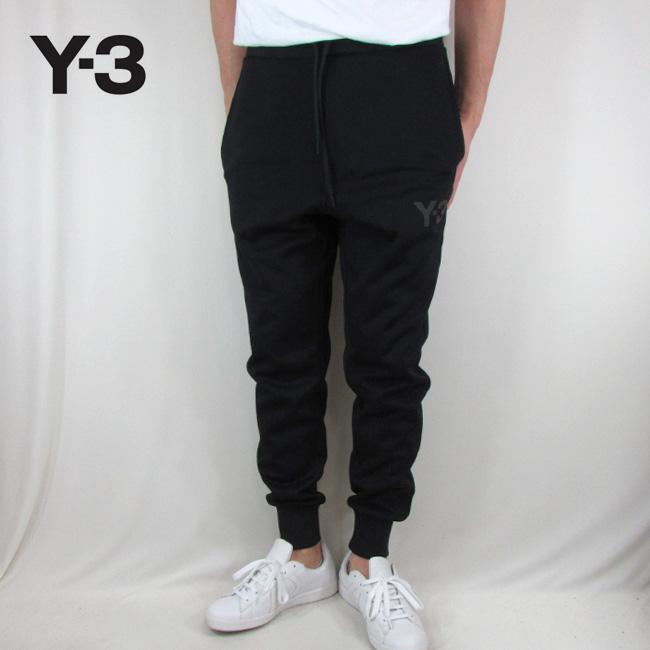 Y-3 ワイスリー YOHJI YAMAMOTO メンズ パンツ スウェットパンツ ストリート 黒 CY6844 / BLACK / ブラック サイズ:M/L