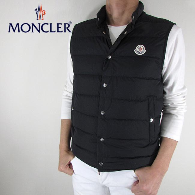 モンクレール MONCLER メンズ ダウンベスト ダウン ベスト ライトダウン 4393305 5396F / 999 / ブラック サイズ:1~5