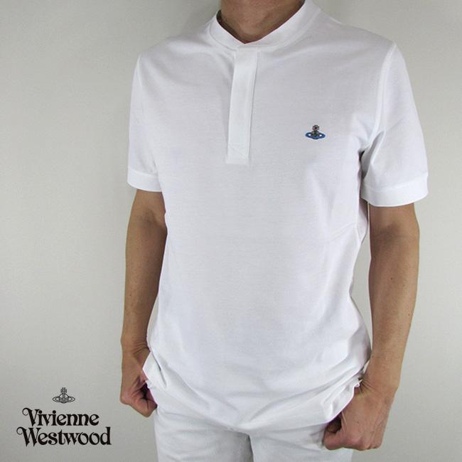ヴィヴィアンウエストウッド vivienne westwood メンズ Tシャツ 半袖 S25GL0017 / 100 / ホワイト 白 サイズ:S/M/L