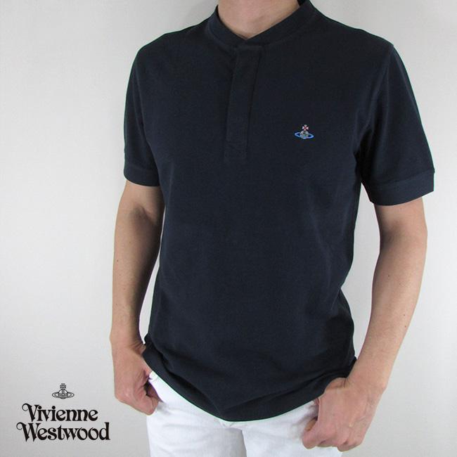 ヴィヴィアンウエストウッド vivienne westwood メンズ Tシャツ 半袖 S25GL0017 / 524 / ネイビー サイズ:S/M/L
