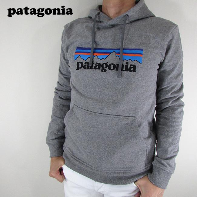 パタゴニア patagonia p-6ロゴ パーカー メンズ スウェット プルオーバー 39539 / GLH / Gravel Heather サイズ:XS~L