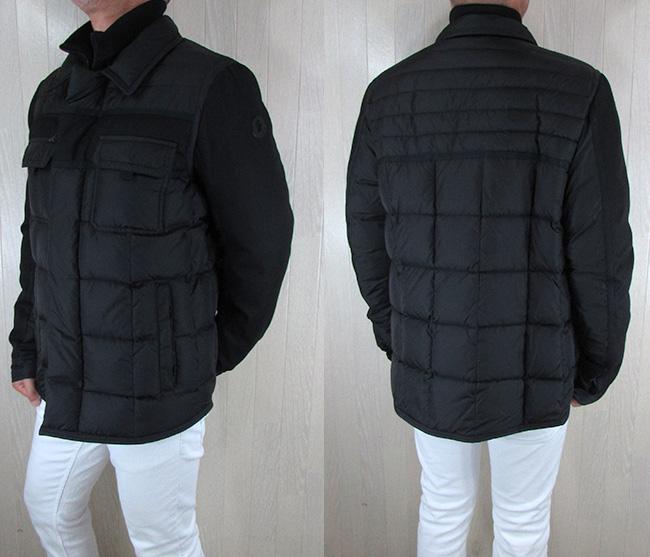 モンクレール MONCLER  メンズ ダウンジャケット ダウン アウター 4132585 53227 / 999 / ブラック サイズ:5