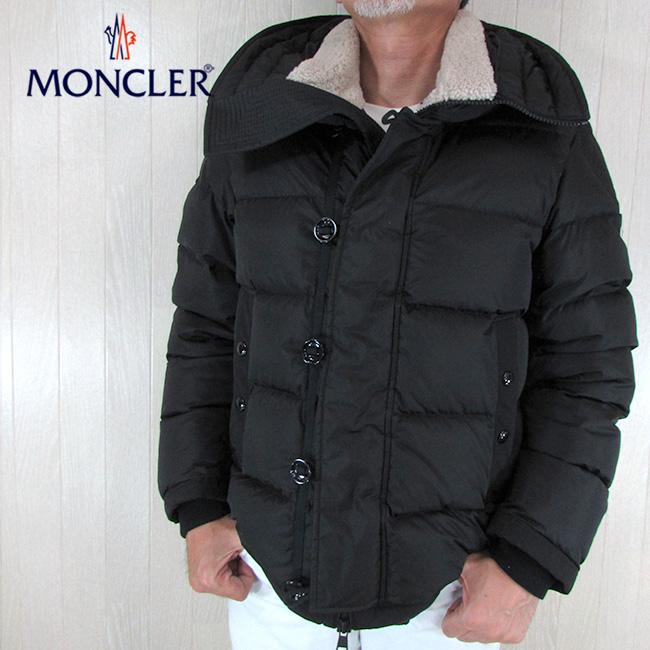 モンクレール MONCLER ダウンジャケット メンズ ダウン 4189315 54155 / 999 / ブラック 黒 サイズ:0~4