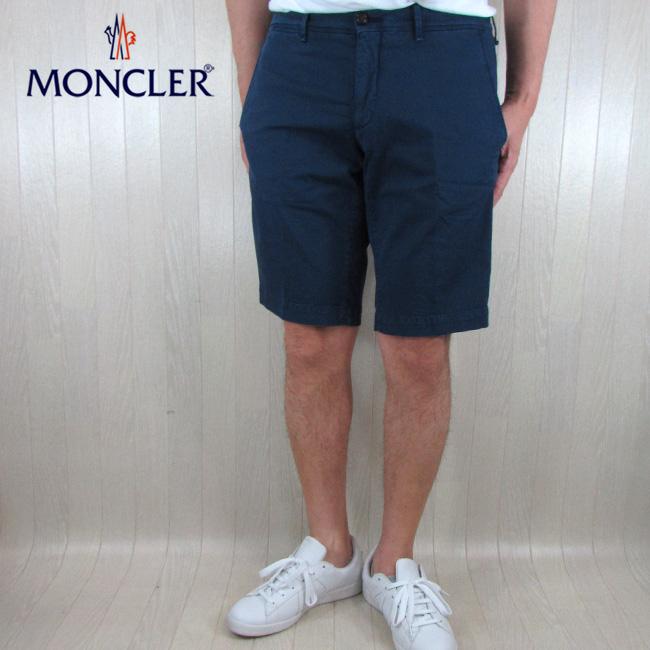 モンクレール MONCLER ハーフパンツ ショートパンツ メンズ 1305240 57158 / 764 / ネイビー 紺 サイズ:48~52