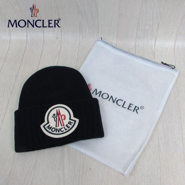 モンクレール MONCLER ニット帽9926200 A9186 / 778 / ネイビー 紺