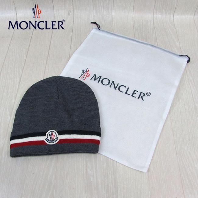 モンクレール MONCLER キャップ CAP 帽子 男女兼用 ユニセックス 0032800 02292 / 998 / グレー 灰
