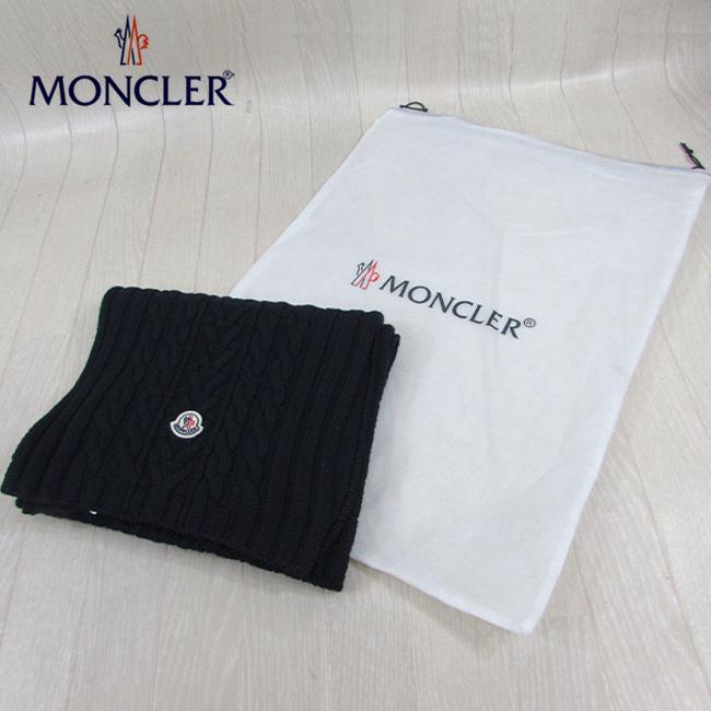 モンクレール MONCLER マフラー ウールマフラー 男女兼用 ユニセックス 9974400 A9146 / 778 / ネイビー 紺