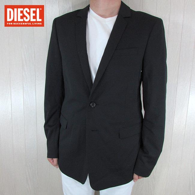 ディーゼル DIESEL メンズ ジャケット テーラードジャケット JANOS / 958 / ブラック 黒 サイズ:50