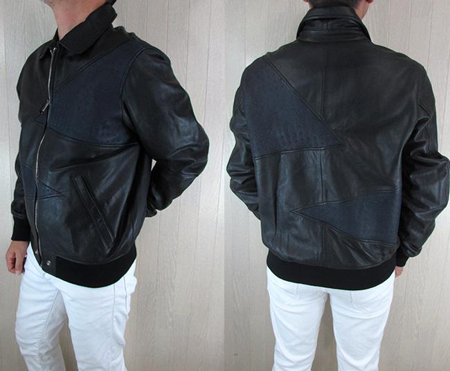 ディーゼル DIESEL ジャケット メンズ レザージャケット 本革 レザー L-CARS / 900 / ブラック サイズ:L
