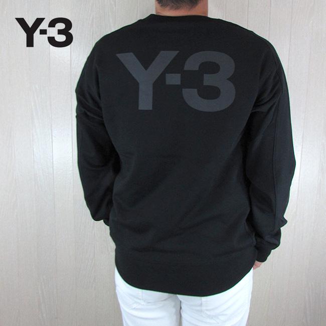 Y-3 ワイスリー YOHJI YAMAMOTO メンズ トレーナー スウェットシャツ プルオーバー FJ0350 / ブラック 黒 サイズ:S~XL