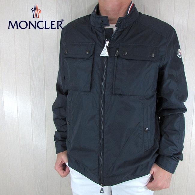 モンクレール MONCLER メンズ ナイロンジャケット 4015005 68352 / 775 / ネイビー 紺 サイズ:5/6