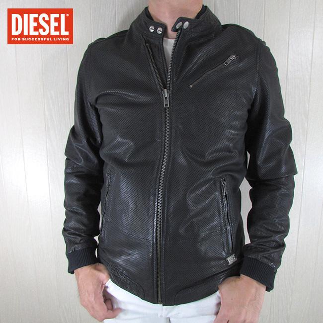 ディーゼル DIESEL ジャケット メンズ レザージャケット LOHAR-R / 900 / ブラック 黒 サイズ:M