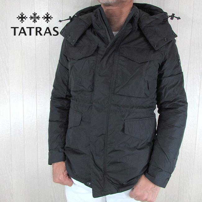 タトラス TATRAS ダウン メンズ ダウンジャケット ブルゾン MTK20A4207 / ブラック 黒 サイズ:1~4