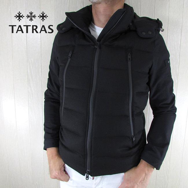 タトラス TATRAS メンズ ダウンジャケット ブルゾン MTK20A4134 / / ブラック 黒 サイズ:1~4