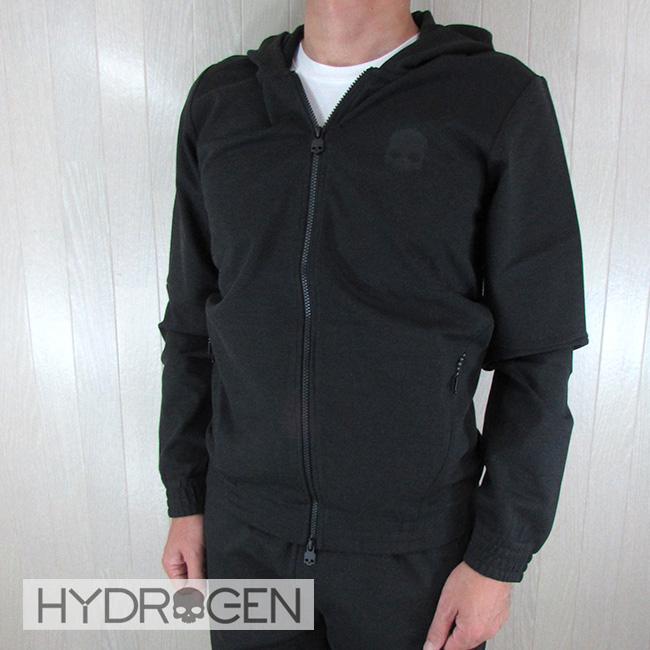 ハイドロゲン HYDROGEN メンズ ジップアップパーカー 250600 / 040 / ダークグレーサイズ:S~XXL
