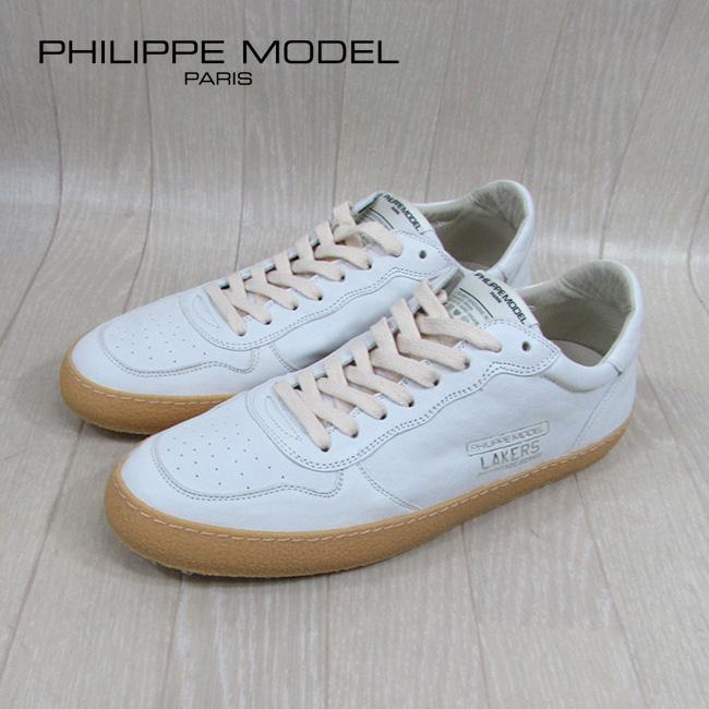 フィリップモデル PHILIPPE MODEL メンズ ローカット スニーカー LVLU / WW24 / オフホワイト サイズ:40~43