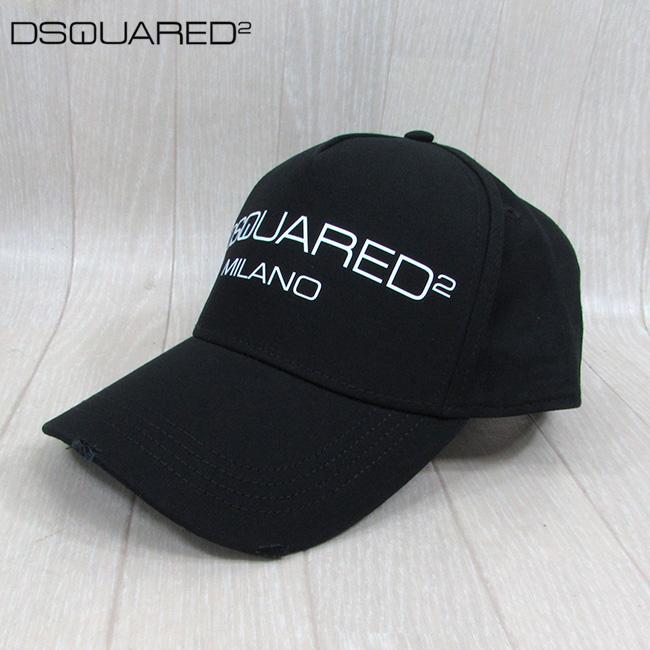 ディースクエアード DSQUARED2 キャップ 男女兼用 ユニセックス BCM0267 05C00001 / M063 / ブラック 黒