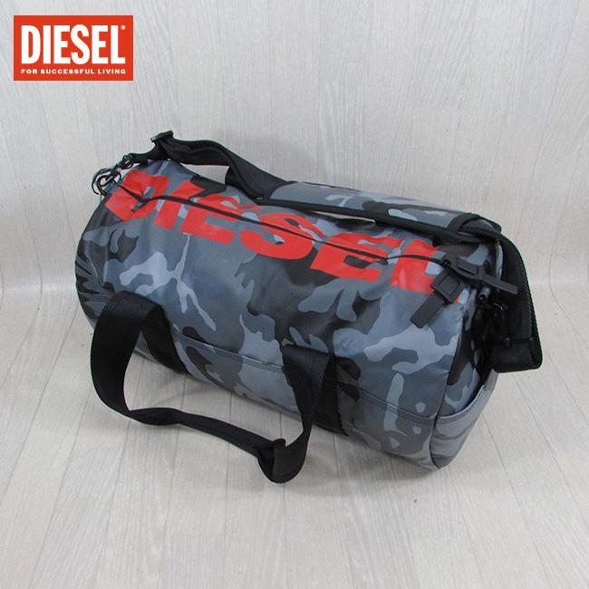 ディーゼル DIESEL バッグ ドラムパック X05477 P1705 / H6180 / グレーカモフラ