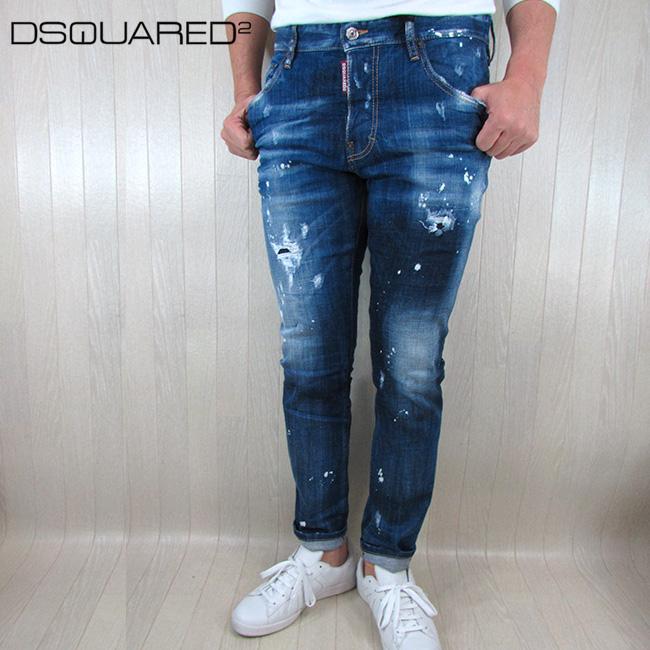 ディースクエアード DSQUARED2 ジーンズ メンズ デニム ジーパン ボタンフライS71LB0590 / 470 / ブルー サイズ:46~50