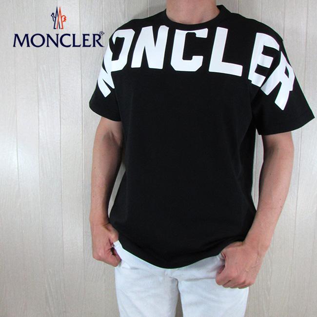 モンクレール MONCLER メンズ Tシャツ 半袖 MAGLIA T-SHIRT 8C70410 8390T / 999 / ブラック 黒 サイズ:S~XL