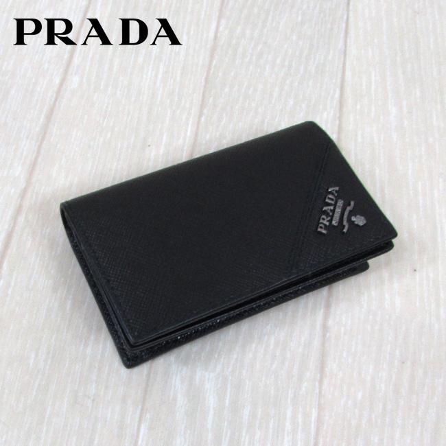 プラダ PRADA ユニセックス カードケース 名刺入れ 2MC122 QME / F0002 / NERO